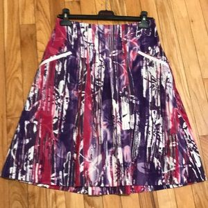 Vibrant colors beautifully made in Italy skirt